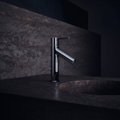 Bathwaters 10001000 AXOR Starck Single lever basin mixer 100 with lever handle and pop up waste