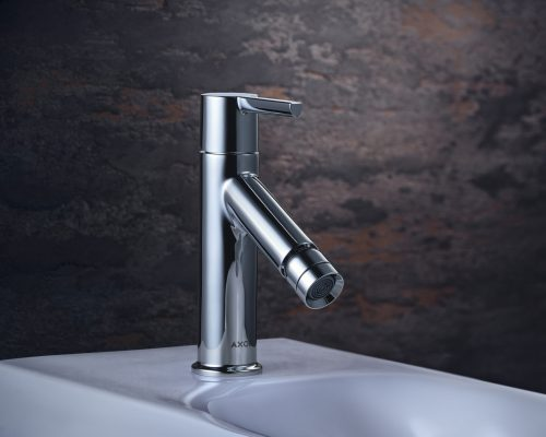 Bathwaters 10214000 AXOR Starck Single lever bidet mixer with lever handle with pop up waste