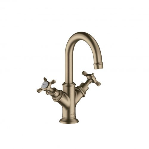 Bathwaters 16505820 AXOR Montreux 2 handle basin mixer 160 with pop up waste for cloakroom basins