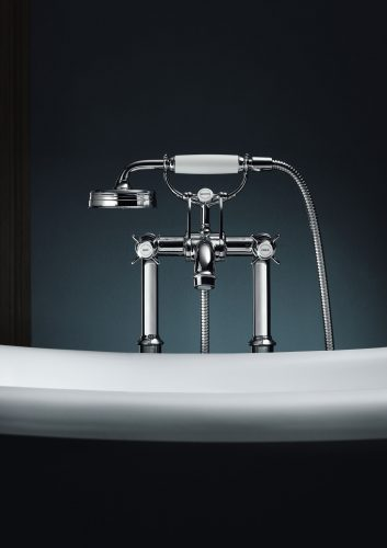 Bathwaters 16553000 AXOR Montreux Floor standing 2 handle bath mixer with lever handles