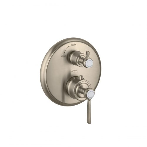 Bathwaters 16801820 AXOR Montreux Thermostatic mixer for concealed installation with shut off valve and lever handle