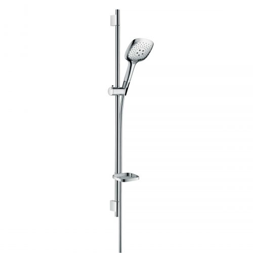 Bathwaters 27857000 hansgrohe Raindance Select E Shower set 150 3jet with shower rail 90 cm and soap dish