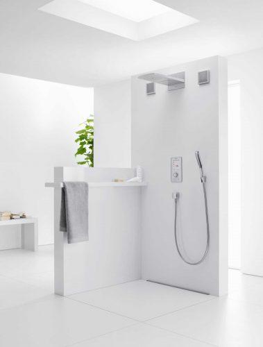 Bathwaters 28558400 hansgrohe PuraVida Baton hand shower 150 1jet