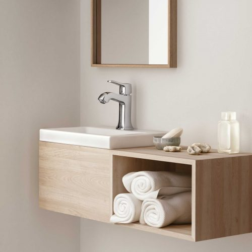 Bathwaters 31075000 hansgrohe Metris Classic Single lever basin mixer 100 with pop up waste
