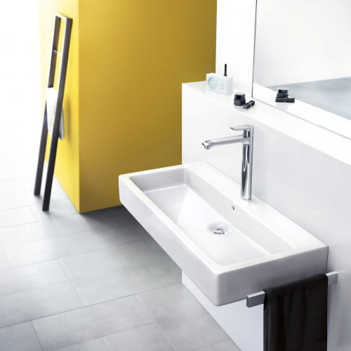 Bathwaters 31082000 hansgrohe Metris Single lever basin mixer 260 for wash bowls with pop up waste