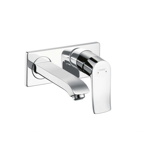 Bathwaters 31085000 hansgrohe Metris Single lever basin mixer for concealed installation with spout 16