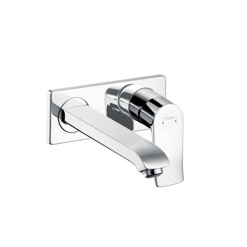 Bathwaters 31086000 hansgrohe Metris Single lever basin mixer for concealed installation with spout 22