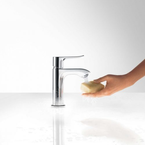 Bathwaters 31088000 hansgrohe Metris Single lever basin mixer 100 for cloakroom basins with pop up waste