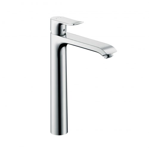 Bathwaters 31184000 hansgrohe Metris Single lever basin mixer 260 for wash bowls without waste 02