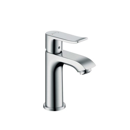 Bathwaters 31186000 hansgrohe Metris Single lever basin mixer 100 for cloakroom basins without waste