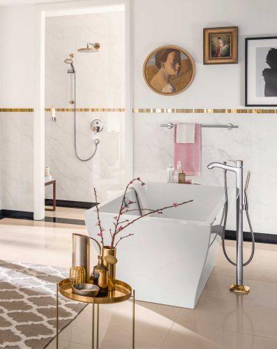 Bathwaters 31445090 hansgrohe Metropol Classic Single lever bath mixer floor standing with lever handle 02
