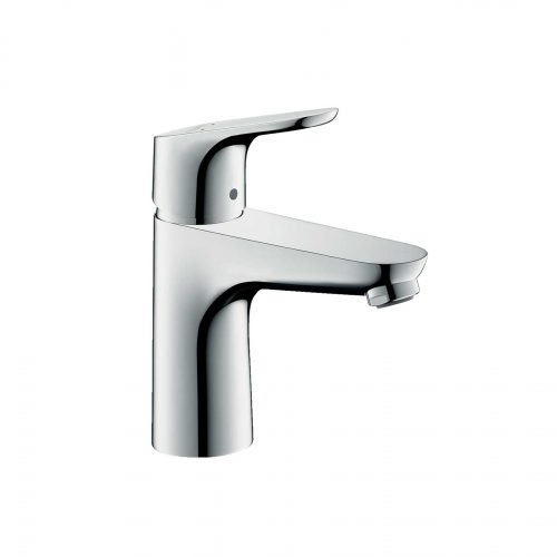 Bathwaters 31607000 hansgrohe Focus Single lever basin mixer 100 with pop up waste