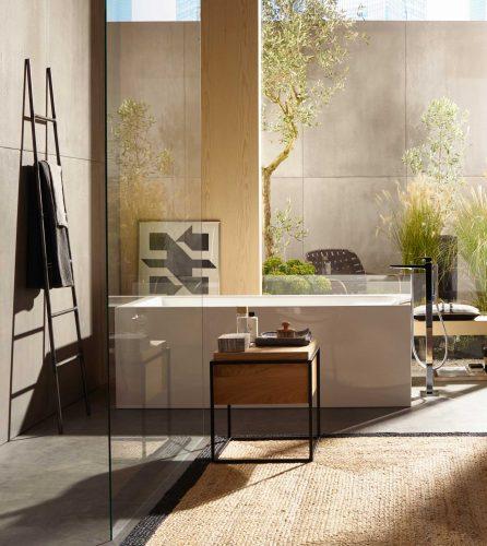 Bathwaters 32532000 hansgrohe Metropol Single lever bath mixer floor standing with lever handle 02