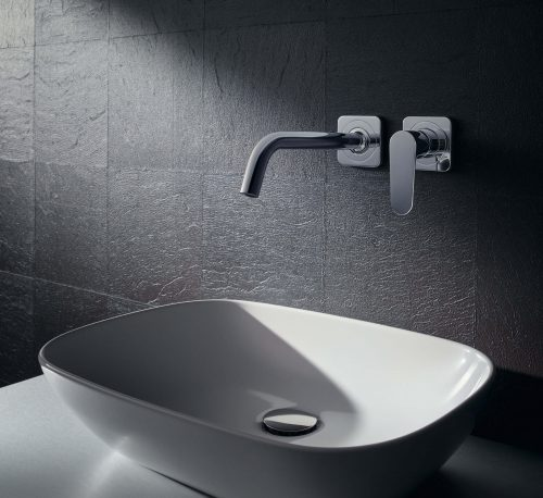 Bathwaters 34116000 AXOR Citterio M Single lever basin mixer with escutcheons and 227 mm spout, wall mounting