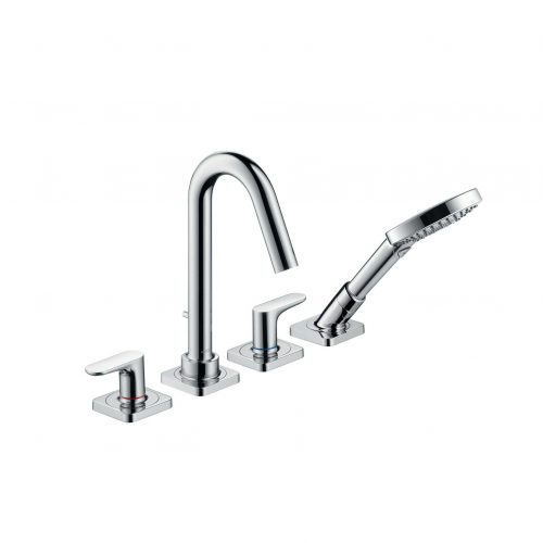 Bathwaters 34444000 AXOR Citterio M 4 hole rim mounted bath and shower mixer