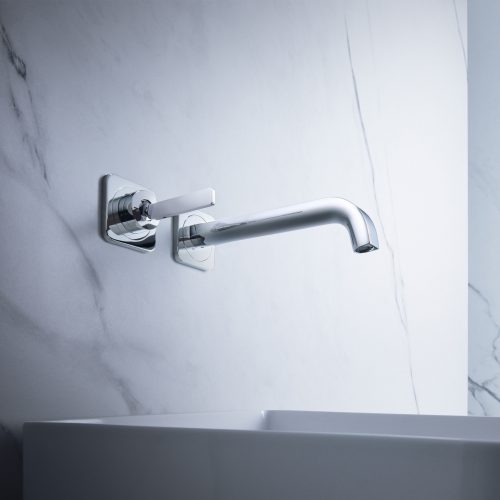 Bathwaters 36106000 AXOR Citterio E Single lever basin mixer for concealed installation with escutcheons, wall mounted