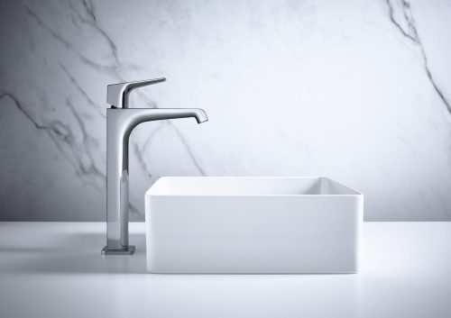 Bathwaters 36113000 AXOR Citterio E Single lever basin mixer 250 with lever handle without waste for washbowls