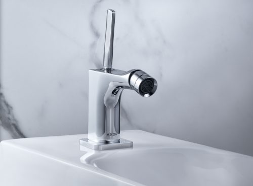 Bathwaters 36120000 AXOR Citterio E Single lever bidet mixer with pop up waste