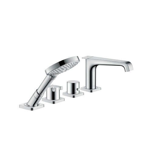 Bathwaters 36411000 AXOR Citterio E 4 hole rim mounted thermostatic bath mixer