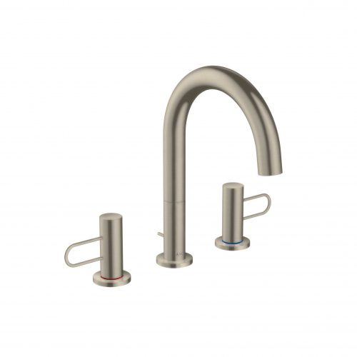 Bathwaters 38054820 AXOR Uno 3 hole basin mixer 200 loop handle with pop up waste