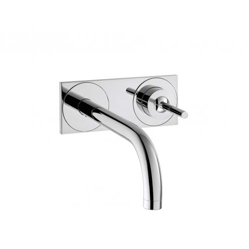 Bathwaters 38115000 AXOR Uno Single lever basin mixer with plate and 225 mm spout