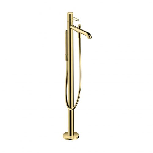Bathwaters 38442930 AXOR Uno Floor standing single lever bath mixer loop handle