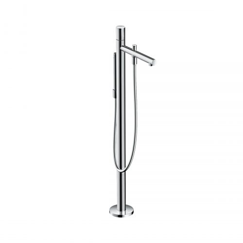 Bathwaters 45416000 AXOR Uno Floor standing single lever bath mixer zero handle