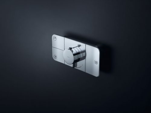 Bathwaters 45713000 AXOR One Thermostatic module for concealed installation for 3 outlets