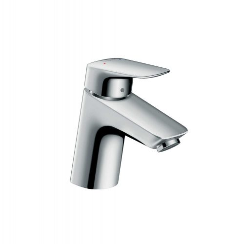 Bathwaters 71070000 hansgrohe Logis Single lever basin mixer 70 with pop up waste