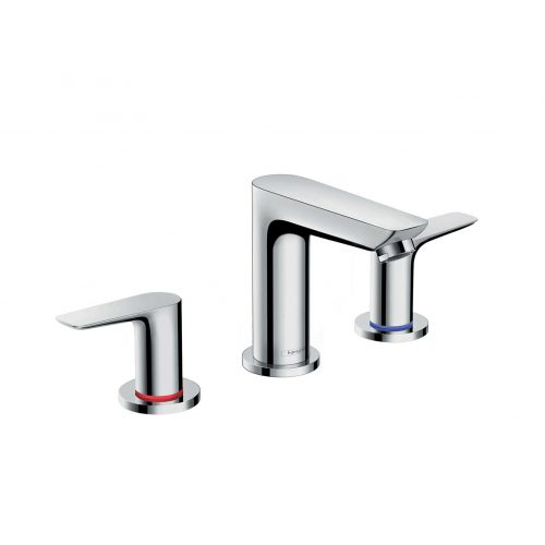 Bathwaters 71733000 hansgrohe Talis E 3 hole basin mixer with pop up waste
