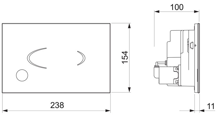 Bathwaters BWFR PR60 05BK TECH
