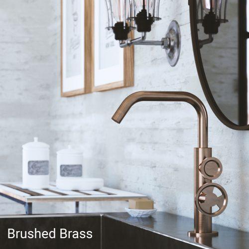 Bathwaters – Cargo Basin mono Duo Brushed Brass