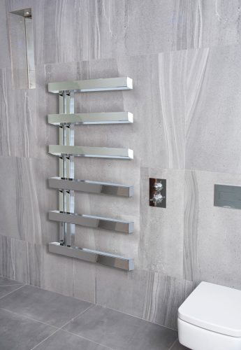 Bathwaters Chertsey Towel Rail Chrome 795×500