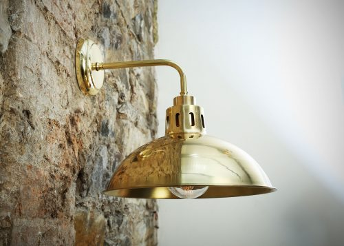 Bathwaters Mullan Lighting MLBWL001POLBRS 1