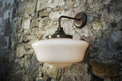 Bathwaters Mullan Lighting MLBWL003ANTBRS 1