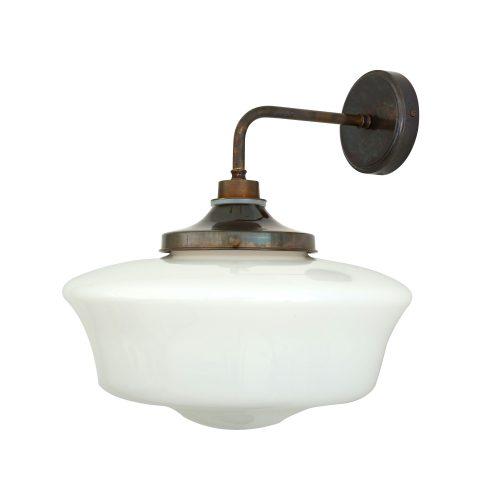Bathwaters Mullan Lighting MLBWL003ANTBRS 2