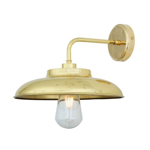 Bathwaters Mullan Lighting MLBWL005POLBRS 2