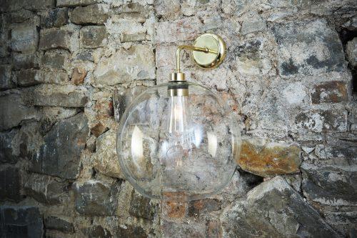 Bathwaters Mullan Lighting MLBWL006POLBRS 1