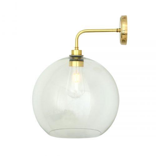 Bathwaters Mullan Lighting MLBWL006POLBRS 4