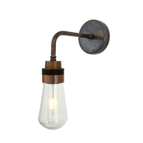 Bathwaters Mullan Lighting MLBWL009ANTBRS 2