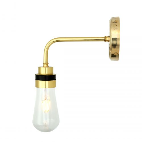 Bathwaters Mullan Lighting MLBWL009POLBRS 4