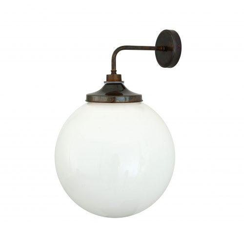Bathwaters Mullan Lighting MLBWL010ANTBRS 2