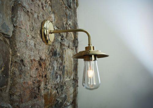 Bathwaters Mullan Lighting MLBWL011POLBRS 1