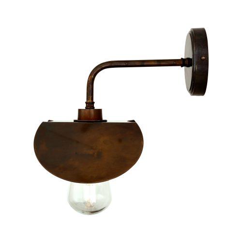 Bathwaters Mullan Lighting MLBWL012ANTBRS 4