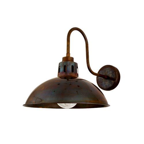 Bathwaters Mullan Lighting MLBWL051ANTBRS 2