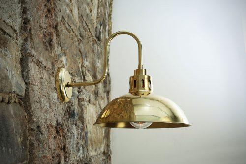 Bathwaters Mullan Lighting MLBWL051POLBRS 1