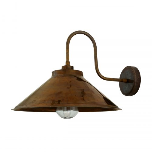 Bathwaters Mullan Lighting MLBWL052ANTBRS 2