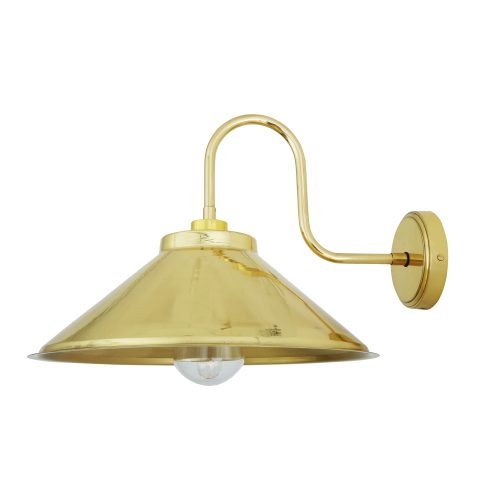 Bathwaters Mullan Lighting MLBWL052POLBRS 2