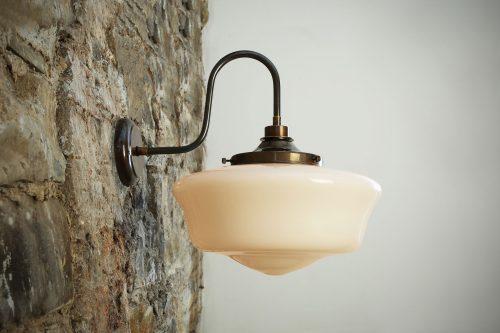 Bathwaters Mullan Lighting MLBWL053ANTBRS 1