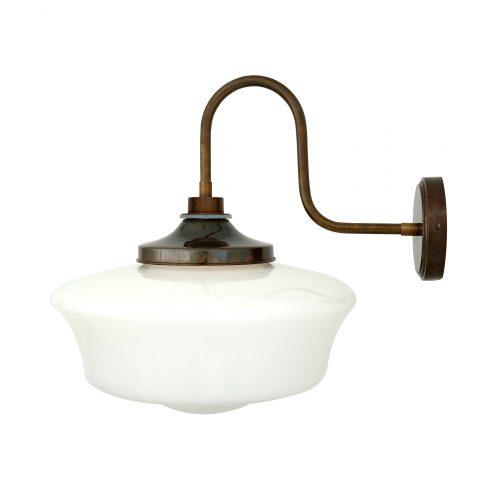 Bathwaters Mullan Lighting MLBWL053ANTBRS 4